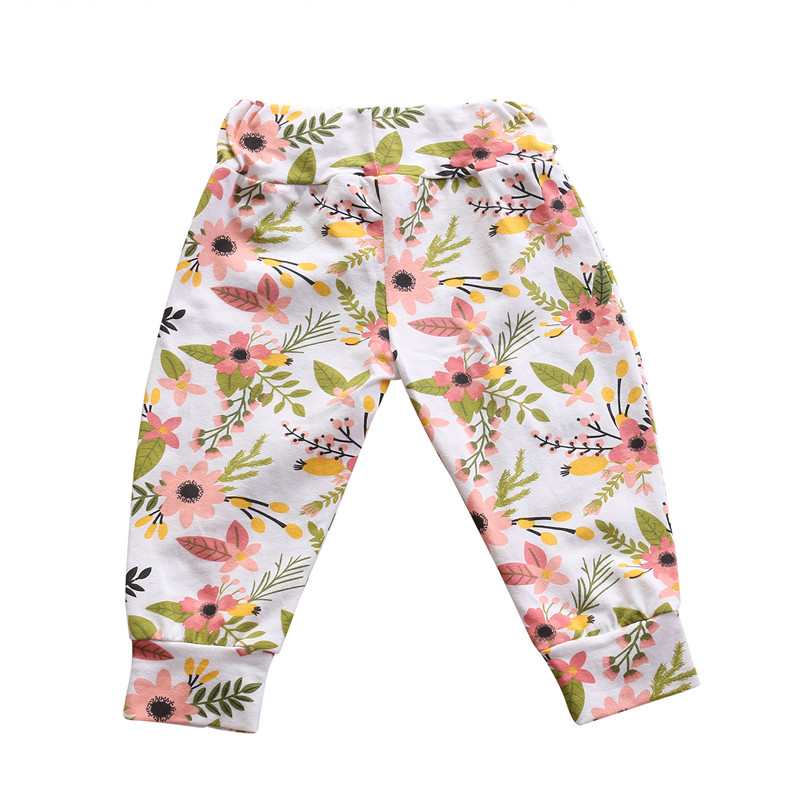 Infant Leggings Pants Clothing Baby Trousers Newborn Baby-Girl Cotton Summer Fashion title=