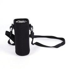420-1500 мл Спортивная бутылка для воды с чехлом, изолированная сумка, неопреновый чехол, держатель, чехол, переноска для кружки, бутылки, чашки