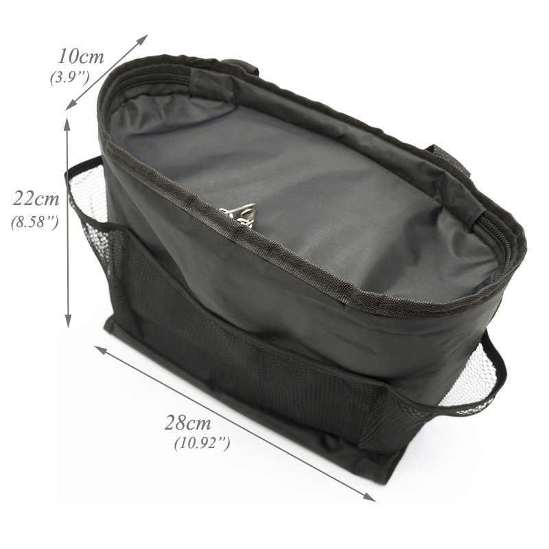 Многофункциональный автомобильный органайзер для сидения для мам и дочек, мешок Оксфорд Водонепроницаемый детских бутылочек Термальность охлаждающая сумка мешок с тканевой Коробки
