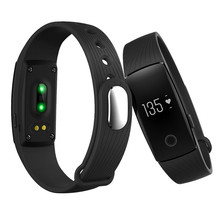 Smart Bracelet Watch Bluetooth Band Heart Rate Monitor Silicone Sport Wristband Fitness Tracker Clock For IOS Smartphone Android