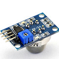MQ-5 sensor de gás liquefeito módulo sensor de gás módulo de detecção módulo sensor de fumaça sensor de gás de gás de cidade