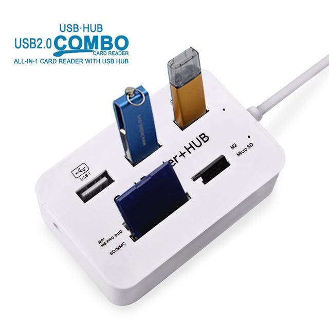Multi USB Splitter Hub USB Combo for PC Computer Accessories