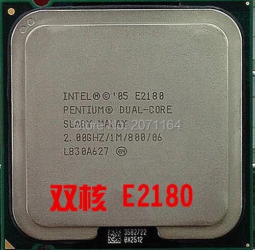 Бесплатная доставка для Intel Pentium Dual Core E2180 Настольный Компьютер Intel 775-контактный ПРОЦЕССОР