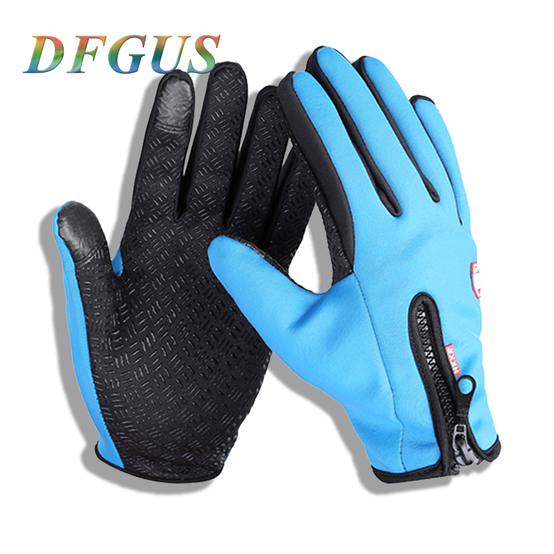 Men's Classic Black Winter Leather Gloves Outdoor Sport Driving TouchScreen Gloves Male Military Army Guantes Tactical Women Gym