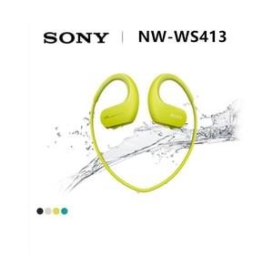 Image 2 - Sony NW WS413 su geçirmez yüzme koşu mp3 müzik çalar kulaklık entegre aksesuarları su geçirmez SONY WS413 Walkman