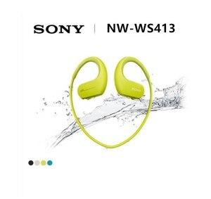 Image 2 - Sony headset para natação NW WS413 e corrida, headset com mp3 e acessórios integrados à prova d água sony ws413 walkman