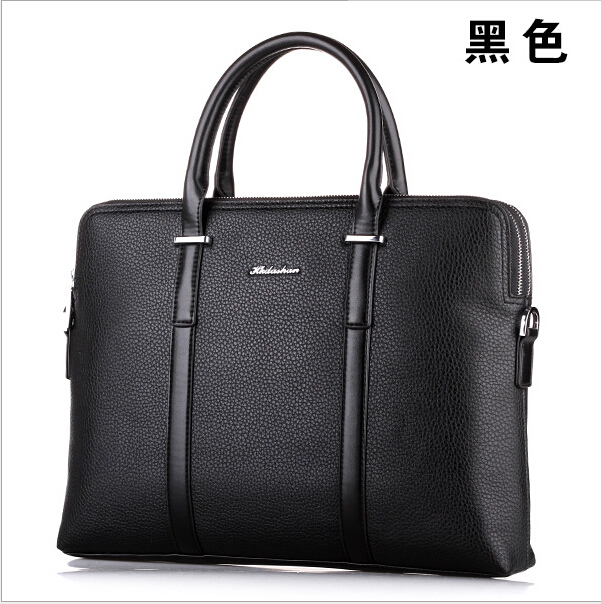 3colors 2016 hk dashan brand black men's briefcases pu leather top quality business man briefcases 15inches big  blue bags сумка givenchy fc150411 hk 15 pervert