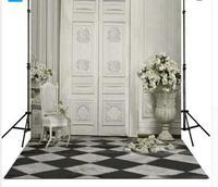 3X6 м двери цветок Гостиная фон винил ткань высокого качества Компьютер печати свадебное фото фон