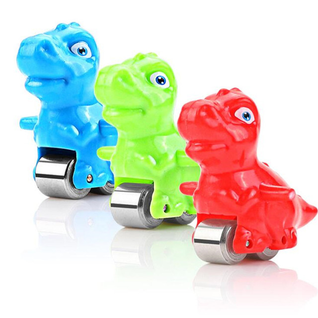 Children Electric Tracks Climb Stair Dinosaur Toys Glowing With Sound Kid Toy Animals Model  Music Multi-Layer Toys Set