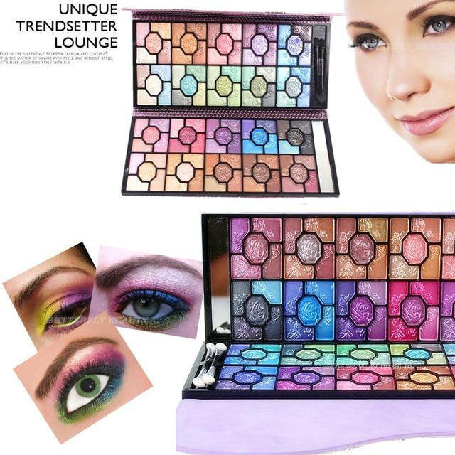 Professional 100 Color Eyeshadow Palette Makeup Naked Matte Pearl Roses Eye Shadow Palette the maquiagem paleta de sombra