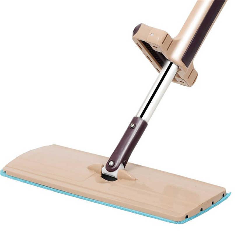 360 درجة كسول شقة ضغط ممسحة أدوات التنظيف المنزلية اليد سهلة غسل ممسحة تنظيف الأرضيات ممسحة دوارة سحرية تنظيف أداة للمنزل