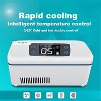 Portable Cold Storage Box Running External Mini Fridge For Cooling Blood Insulin Vaccine Interferon Cooler Box Drug Reefer