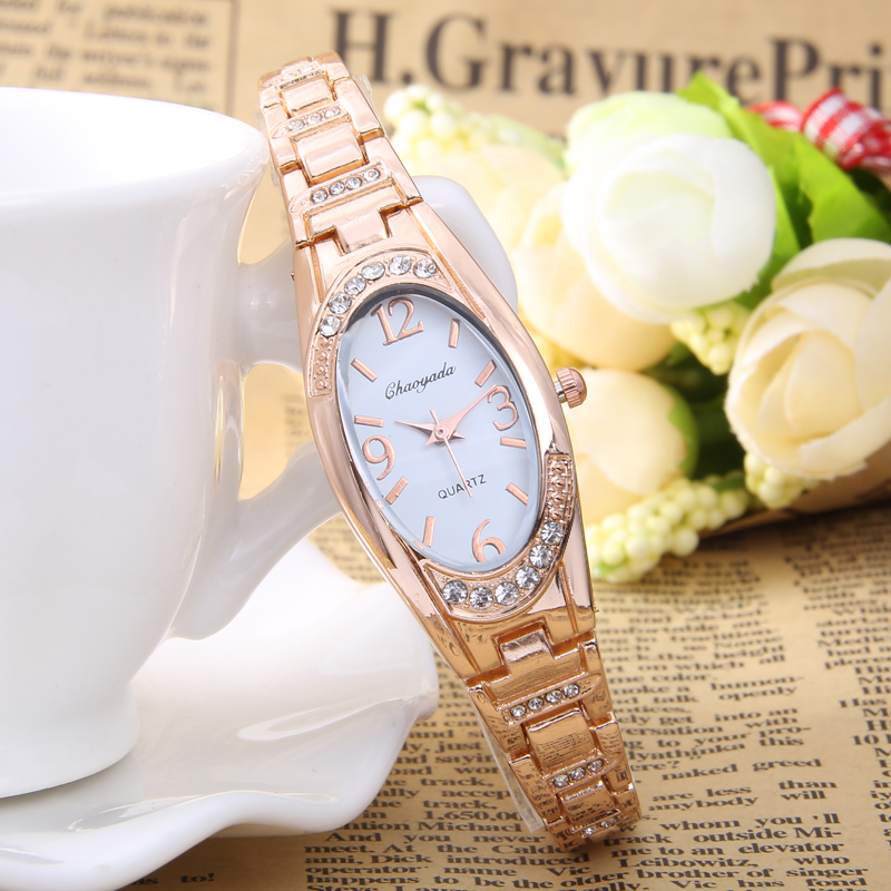 2017 Luxury Women's Ladies Wrist Watches Relogio Feminino Round Dial Quartz Watch Women Bracelet Watches Clock Hours relogio feminino clock women ladies simple love eiffel tower round quartz analog bracelet wrist watch gift dress watches sale