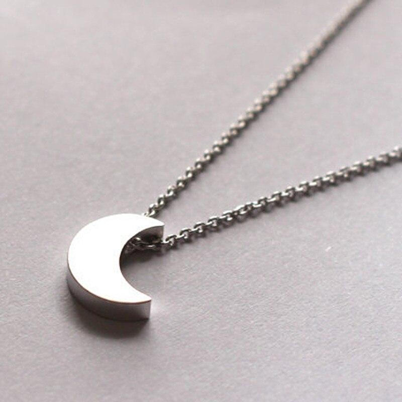 Высокое качество Bijoux ininfity Сердце Сова Кристалл крест лист минималистичные короткие Подвески до ключицы ожерелья для женщин ювелирные изделия цепи ожерелье - Окраска металла: N317 silver