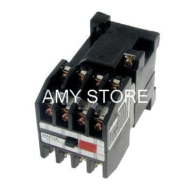 4 Pole NO NC Electromagnetic Relay AC 380V Coil 15A/110V 13A/220V