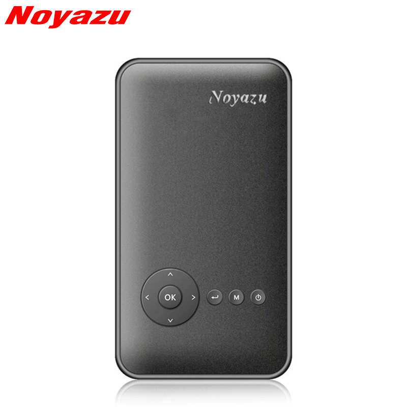 Noyazu M6Plus 200ANSI Mini Portable Projector Android 4.4 WiFi Bluetooth DLP Full HD 854*480 Data Show for Phone Home Theater golf courses