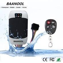Baanool coche gps sos rastreador tk303g con control remoto para el coche En Tiempo Real de Seguimiento de Dispositivos GSM Tracker GPS para el Coche gps de la motocicleta