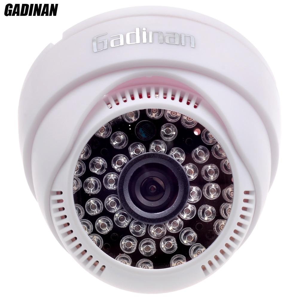 imágenes para GADINAN HD 720 P/960 P Tiempo Real IP Cámara de Interior de la Bóveda de Mini HD ABS de 3.6mm Lente ONVIF Visión Nocturna P2P Plug & Play CCTV Seguridad Para El Hogar