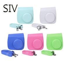 SIV Камера сумка Instax Mini 8/9 Камера Сумки Искусственная кожа плечевой ремень чехол для Fujifilm