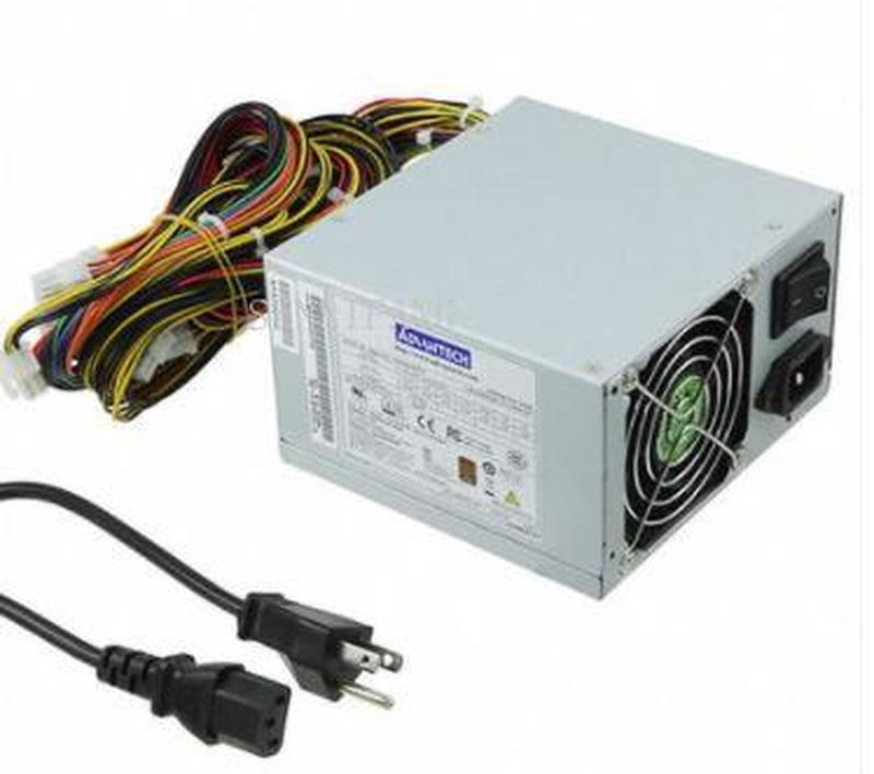 DHL Free Shipping For Advantech PS8-500ATX-ZE FSP500-60PFG Power Supply 500W One Year Warranty