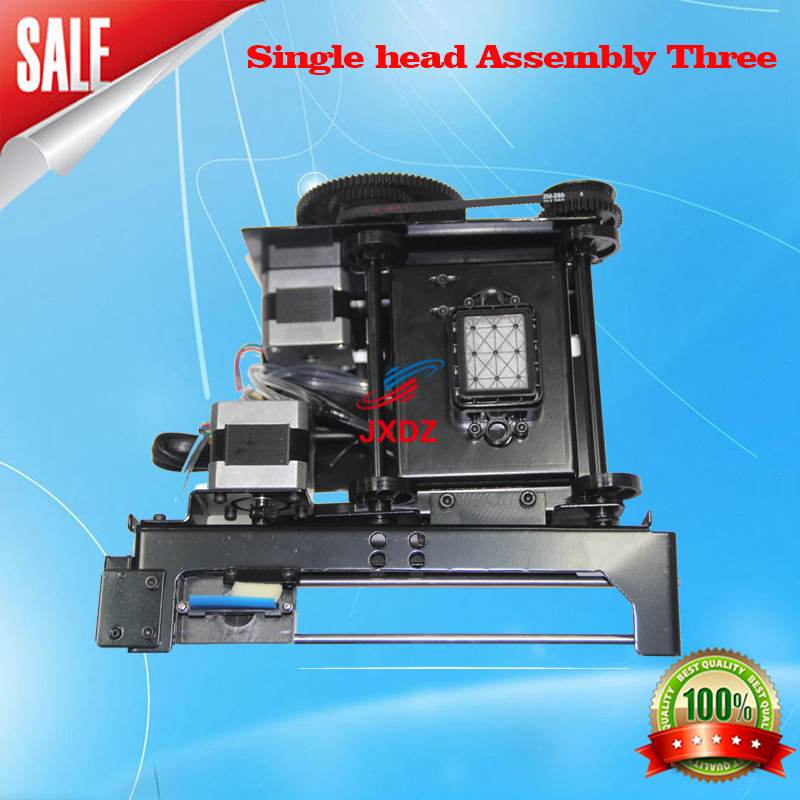 free shipping!! single DX5 Print Head Assembly Printer Ink Pump Assembly Black FORTUNR-LIT/ALLWIN/XENONS/GALAXY/ZHONGYE