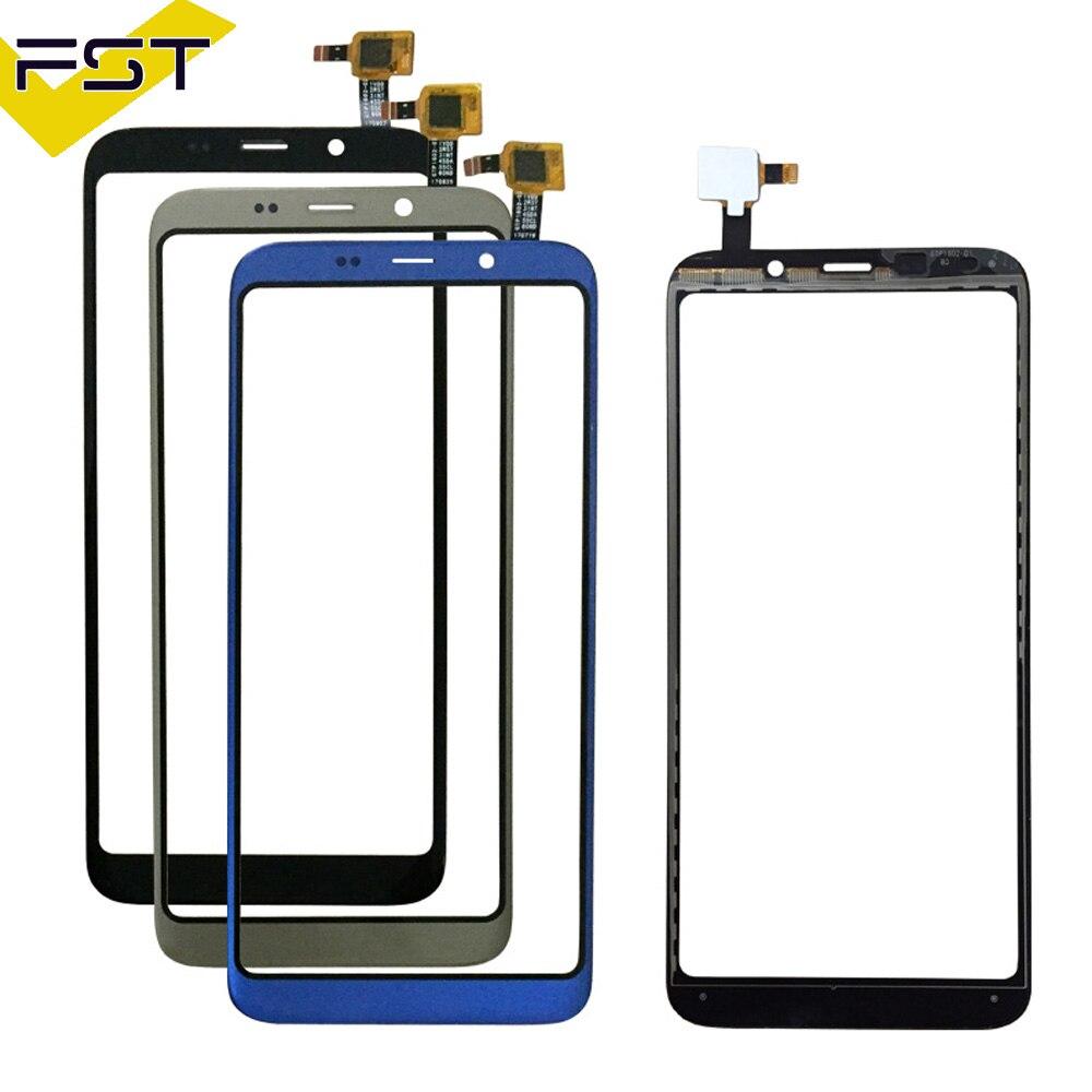 Schwarz/Blau/Gold Hohe Qualität Für Bluboo S8 Touchscreen Touchscreen Digitizer Glas Panel Touch Ersatz Teile + werkzeuge
