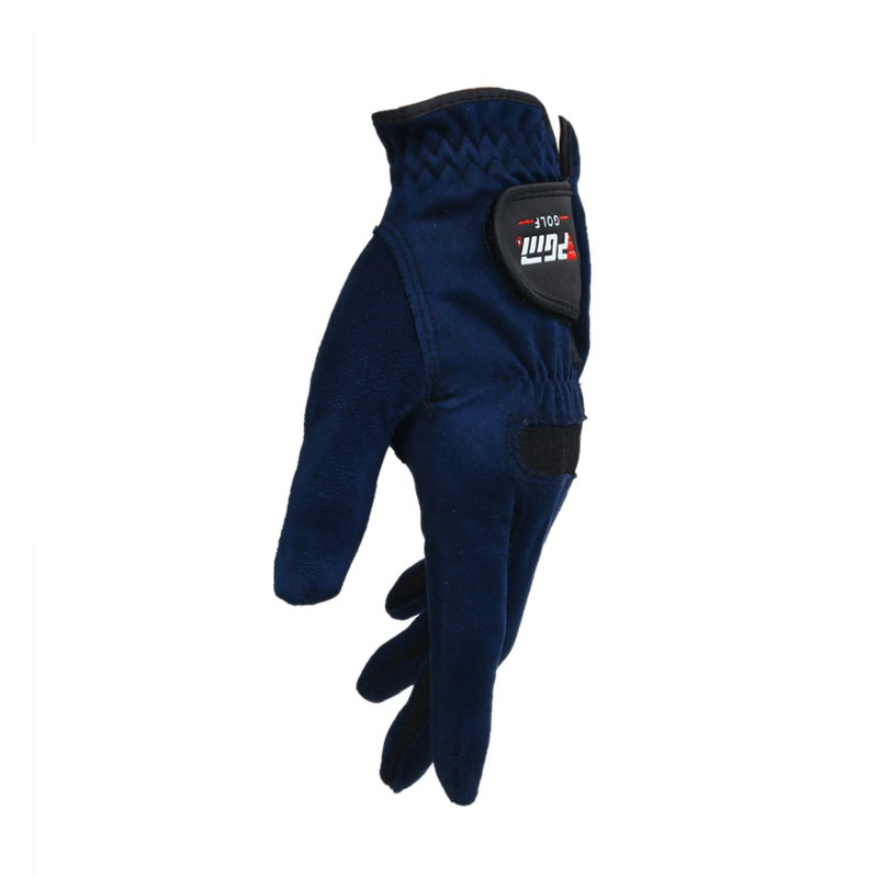 1pcs Golf Sports Mens Right Left Hand Golf Gloves Sweat Absorbent Microfiber Cloth Soft Breathable Abrasion Gloves