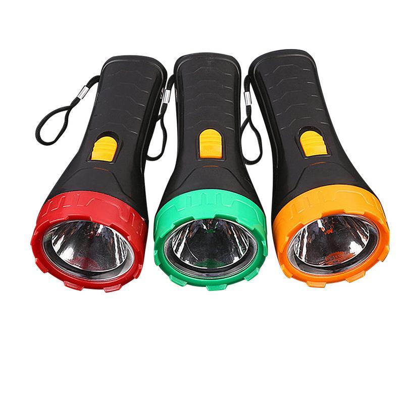 Powerful Waterproof LED Flashlight Portable LED Camping Lamp Torch Lights Lanternas Self Defense Tactical Flashlight Random