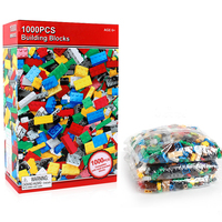 1000 Pieces Architecture DIY Creative Bricks Toys wooden Block For Children Compatible City With Plastic Toys Building Block
