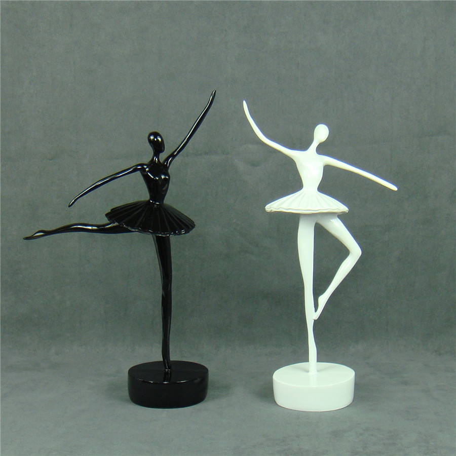 Fashionable Summary Ballet Dancer Figurine Handmade Resin Ballerina Statue Decor Dwelling Artwork And Craft Decoration Current Equipment