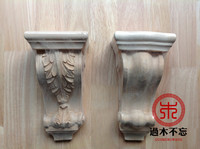 Nicht vergessen die Dongyang holzschnitzerei geschnitzte holz kamin holz corbel halterung stigma Europäischen stil villa eingang armaturen|fitting|   -