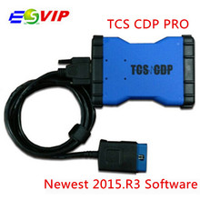 10pcs/lot DHL free 2014.R2/2015.R3 With Keygen New VCI without bluetooch OBD2 Diagnostic Tool Cars/Trucks Support Multi-Brand