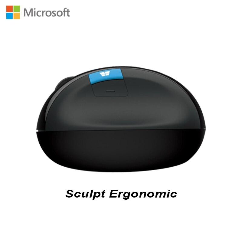 Microsoft Sculpt Ergonomic Blueshin Technology Bluetooth 4.0 1000DPI  Interface 2.4Ghz Nano Receiver Wireless Mouse for LaptopMicrosoft Sculpt Ergonomic Blueshin Technology Bluetooth 4.0 1000DPI  Interface 2.4Ghz Nano Receiver Wireless Mouse for Laptop