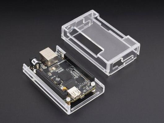 Embest BeagleBone черный нью-ред. C + чехол сингл-ювелирные бортовой компьютер развития на основе в AM3359 процессор [ 102110001 + 113070001 ]