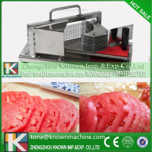10% discount hand-operated commercial manual tomato slicer with 4mm knife distance
