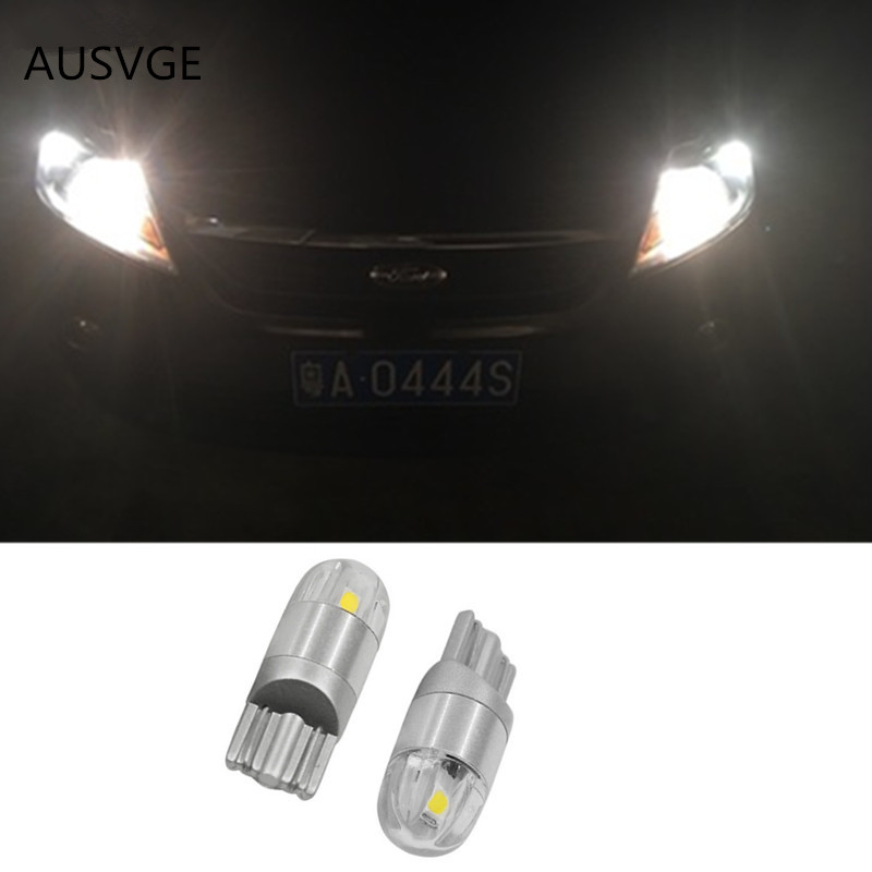2x T10 W5W 168 Car LED Clearance Parking Lights For <font><b>Ford</b></font> Focus 3 2 1 mondeo mk4 transit fiesta fusion <font><b>Mustang</b></font> Kuga Ranger F-150 image