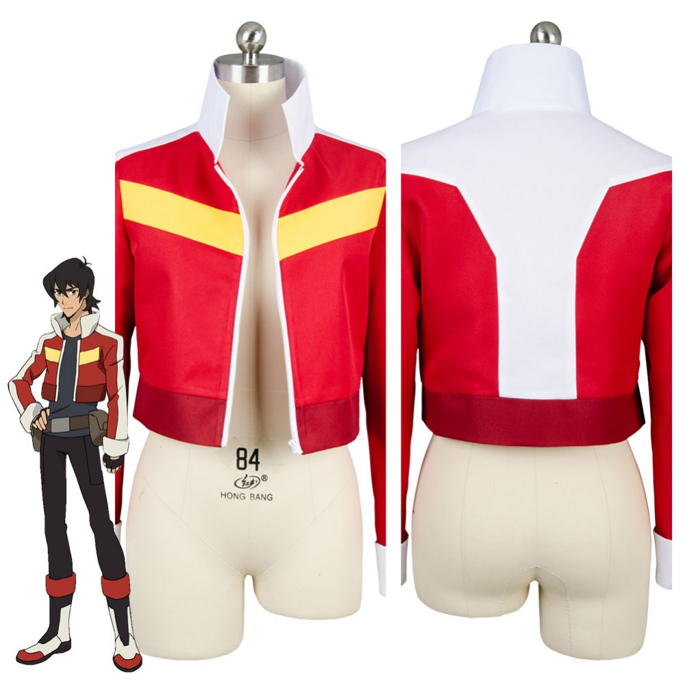 Voltron:Legendary Defender of the Universe Keith Akira Kogane Cosplay Costume Jacket Coat