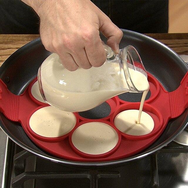 silikon omelett form pfannkuchen formen küche backenwerkzeuge in ... - Silikon Küche