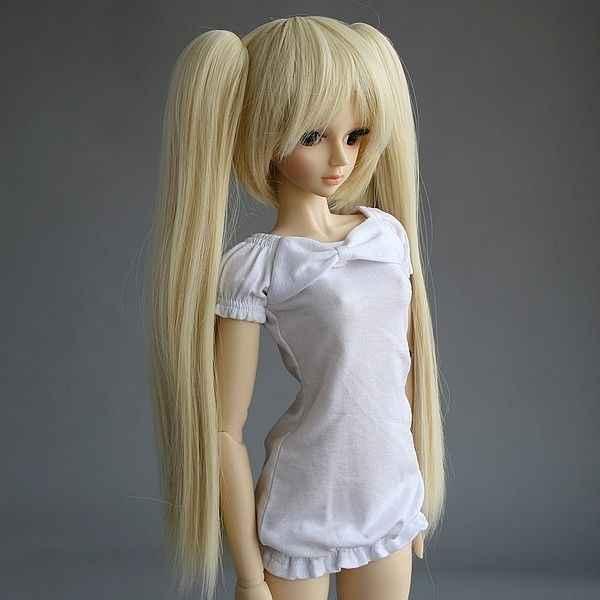 """[Wamami] блонд косичка оснастки-на амфибия парик для 1/3 СД DOD BJD Dollfie 8 """"-9"""""""