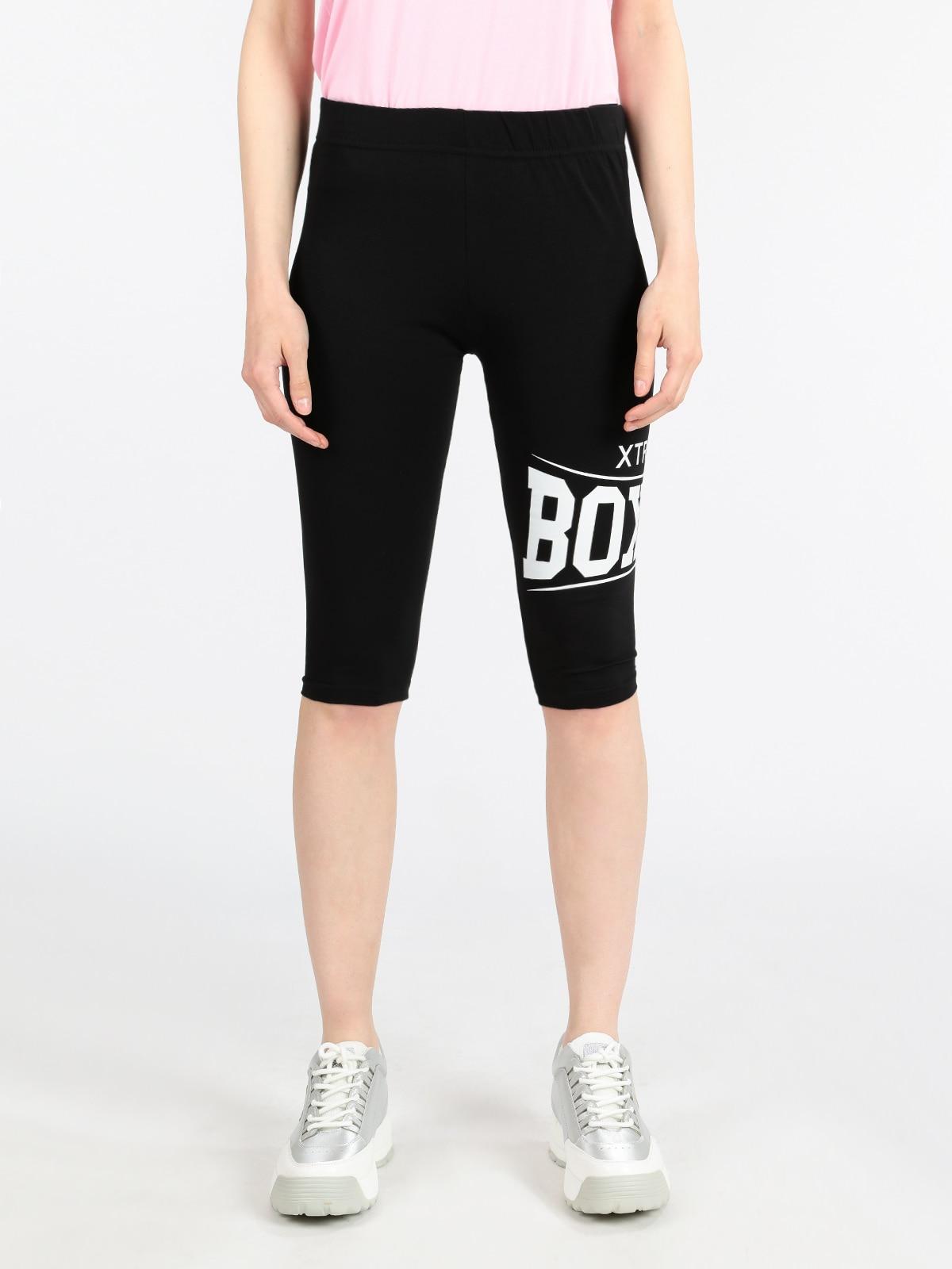 Leggings Black Cycling Shorts