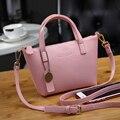 Nueva primavera verano de las mujeres pequeño mensajero diseñador girls crossbody bagladies compras purse tote bag pu de las mujeres bolsos de cuero