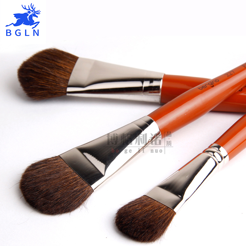 1Pcs High-quality Horseshoe Hair Paint Brushes Set Painting Brush Oil Acrylic For Drawing Artist Watercolor Art Supplies 2840s high quality horse hair acrylic handle paint art supplies watercolor artist brush