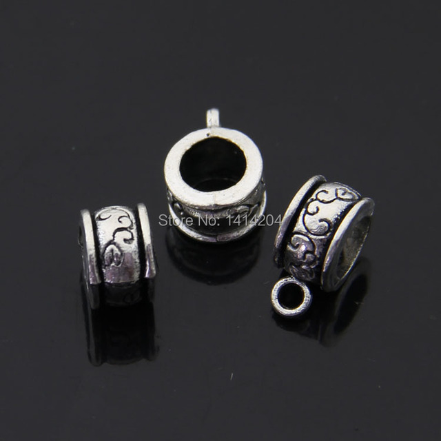 making antique sell supplies round spacer item alloy beads wholesale and jewelry silver hot