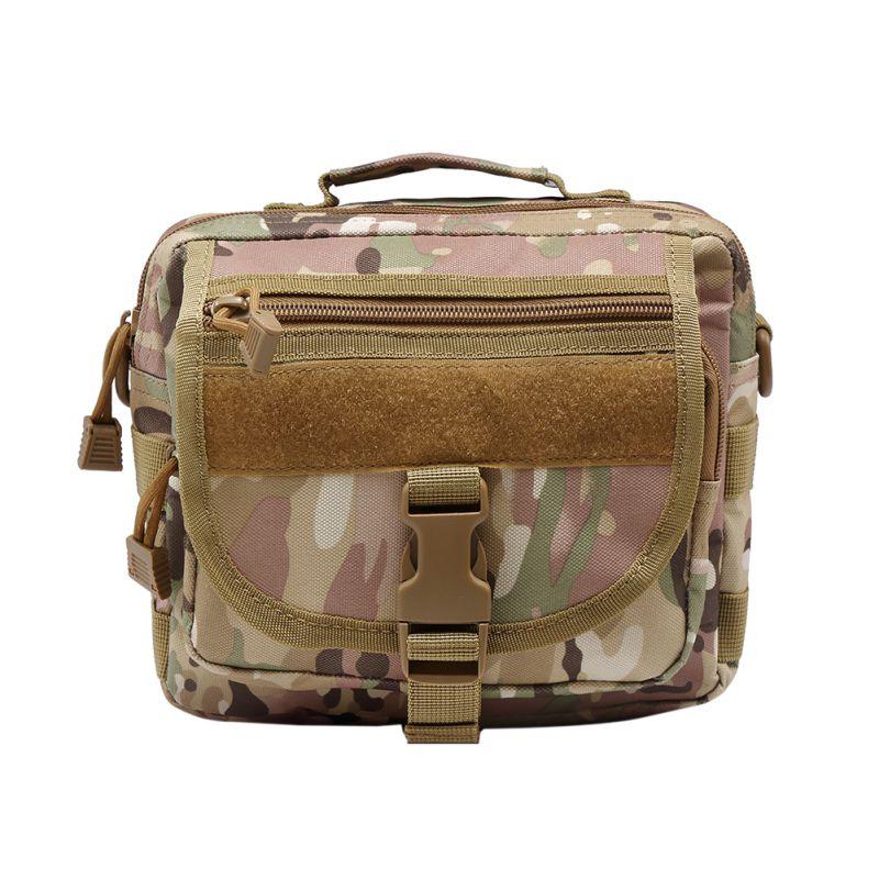 Prix pour Multi-functiona Tactiques Messenger Sac En Nylon Molle Unique Épaule Poitrine Pack Militaire Sling Sac Camouflage Armée Bandoulière Sac