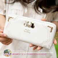 Anime Sailor Moon Cosplay 2018 new Japanese short zipper student cute fashion wallet birthday gift