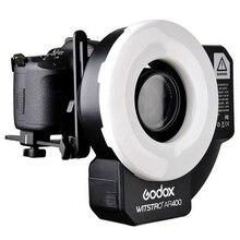 Godox Witstro AR400 400W Li-ion Battery professional macro LED Ring Flash Speedlite + 2 in 1 LED Video Light 5600K