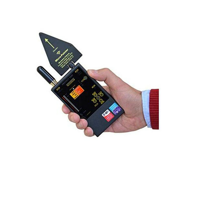 BONLR полный спектр Анти шпион обнаружитель подслушивающих устройств 1206i мини беспроводная камера Скрытая сигнала GSM искатель устройств защи