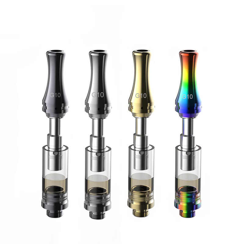Greenlightvapes G10 Ceramic Atomizer Thick Oil Cbd Vape Pen 1ml 510 Thread  Refillable Cartridge Empty Tank Electronic Cigarette