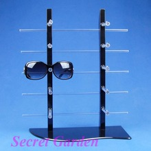 Wholesale High Quality Sunglass Glasses Display Stand Holder Rack For 10 Pairs