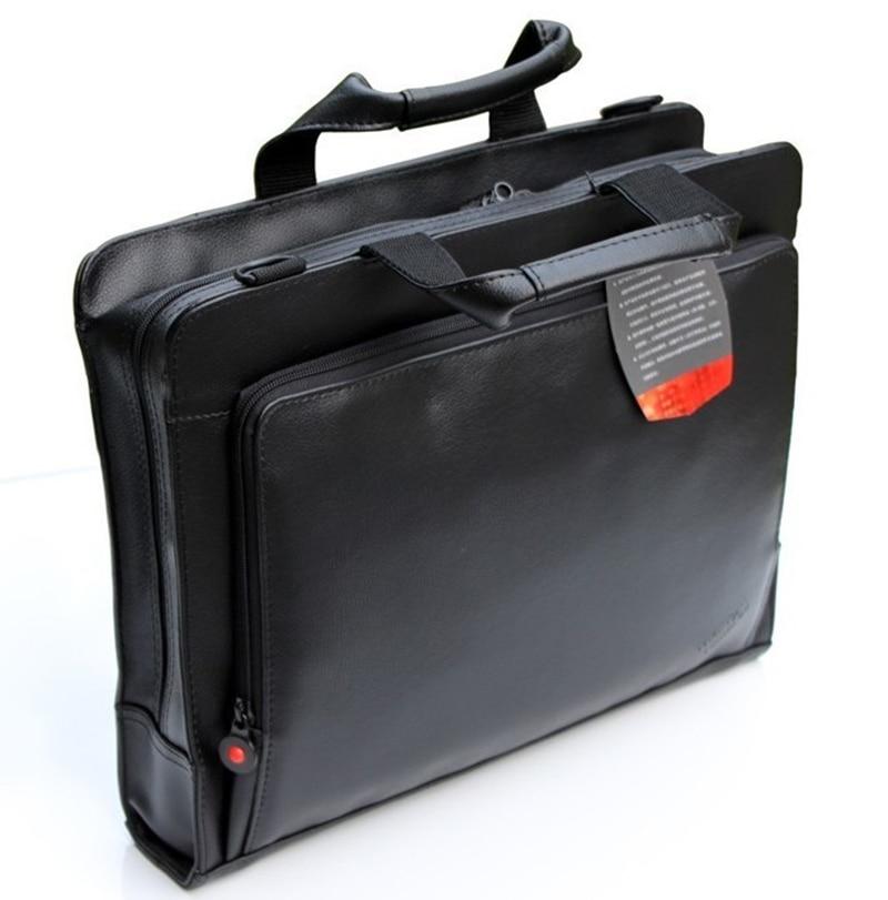 Véritable Lenovo ThinkPad Ordinateur Portable Épaule Sacs En Cuir de Serviette D'affaires Sac 12.5 12 13 pouce X260 X250 X240 X270 Portable Homme hommes